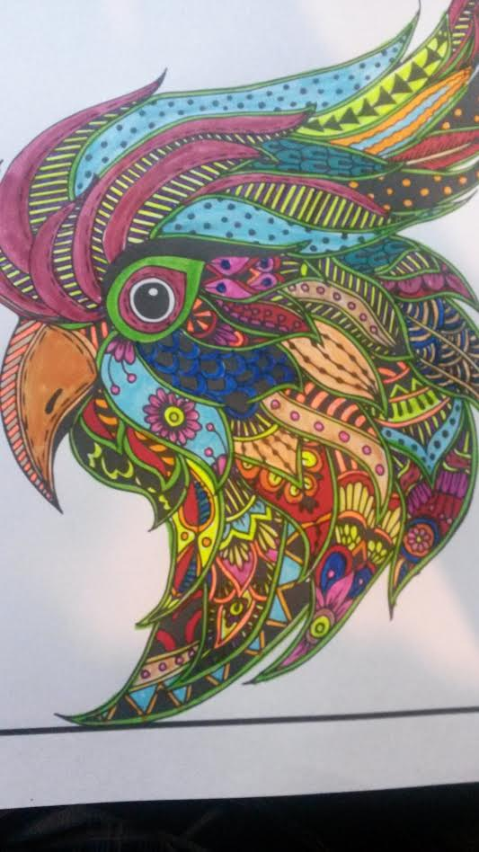 Adult Coloring Books By Jade Summer Review Mom S Point Of View